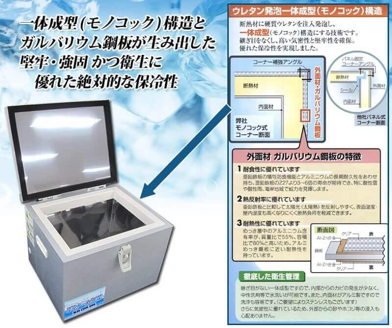 配送用の保冷庫技術を採用