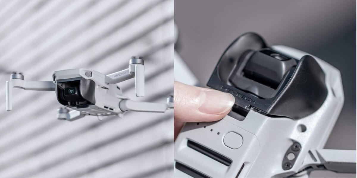 【マビックミニ用レンズフード】ジンバル防眩保護カバー