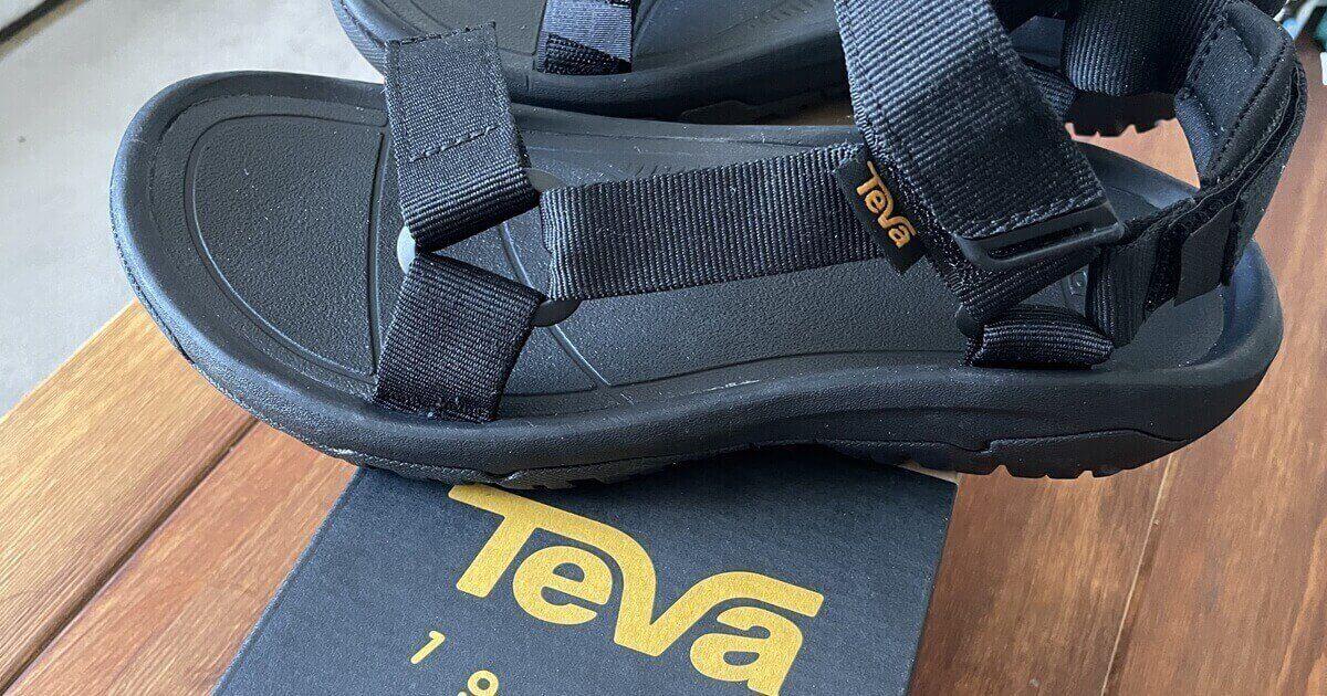 テバ(TEVA)ハリケーンXLT2のサイズ感を徹底調査【サイズ選びで迷わない】